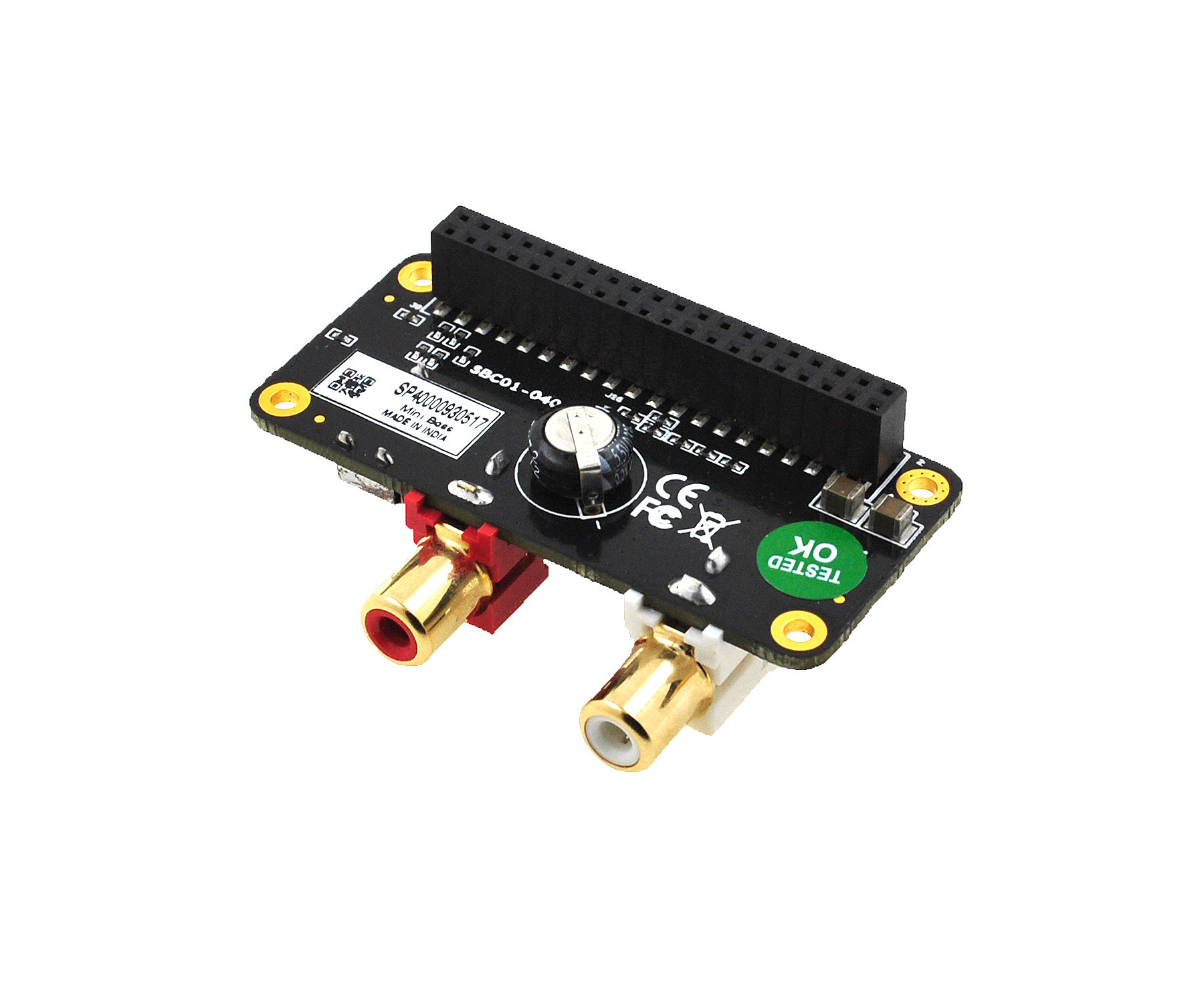 miniBoss i2s dac for PI Zero