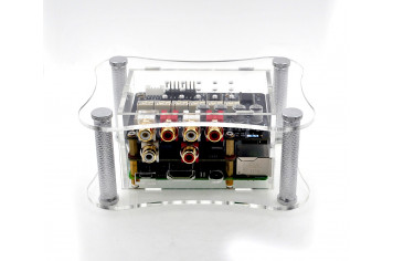 Acrylic Case For RPi + BOSS + Relay Attenuator
