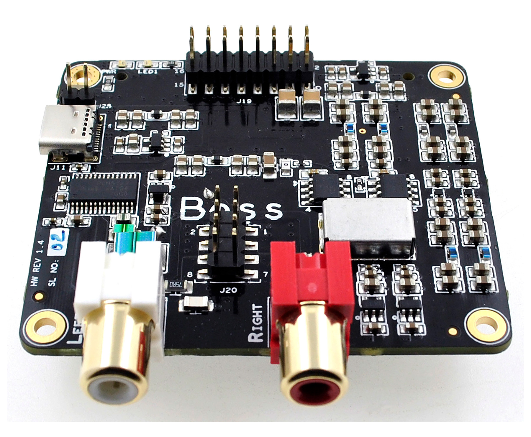 BOSS I2S DAC v 1 2
