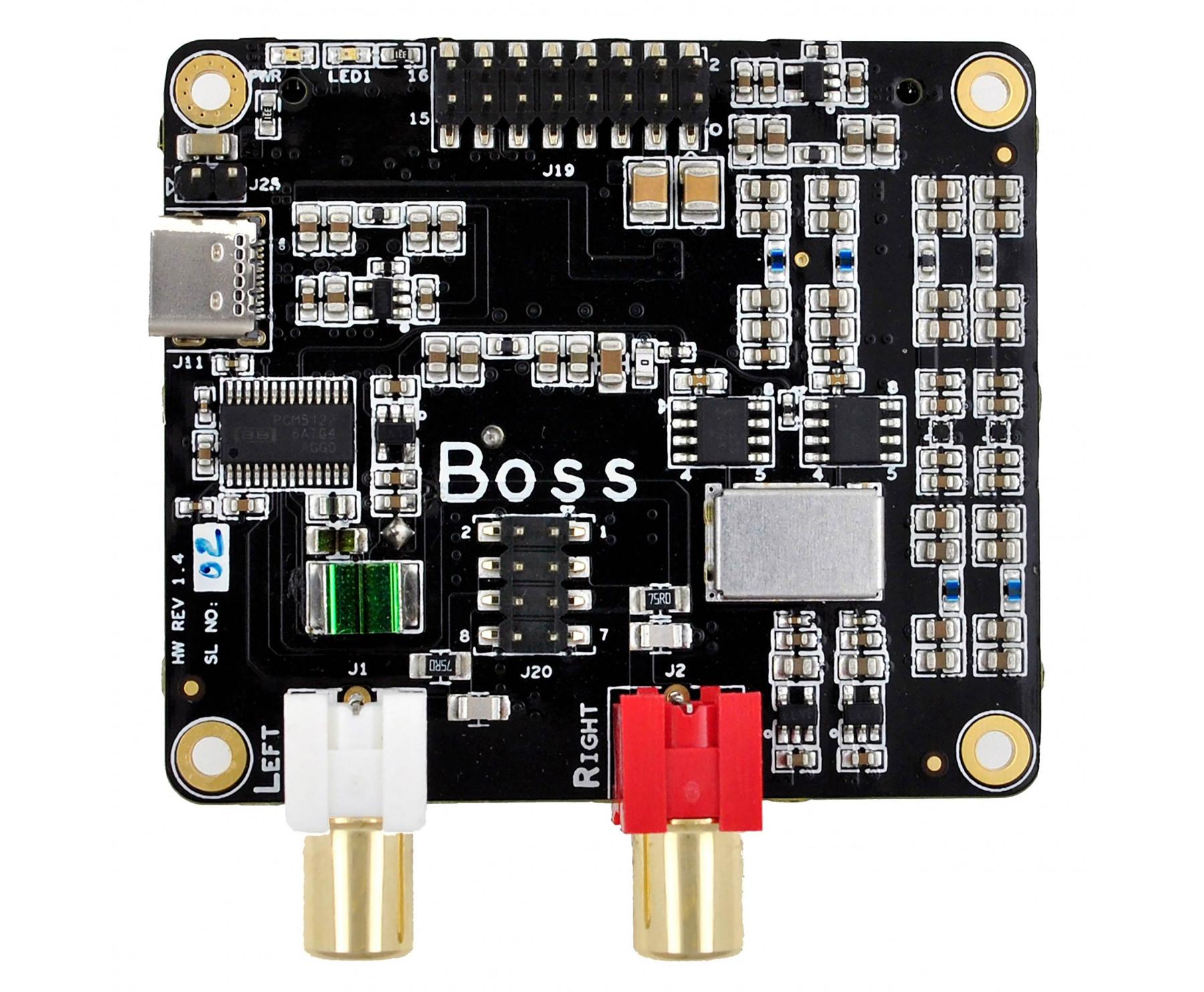 BOSS 1 2 Player, network music player