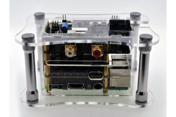 Acrylic Case For RPi + Katana + Isolator