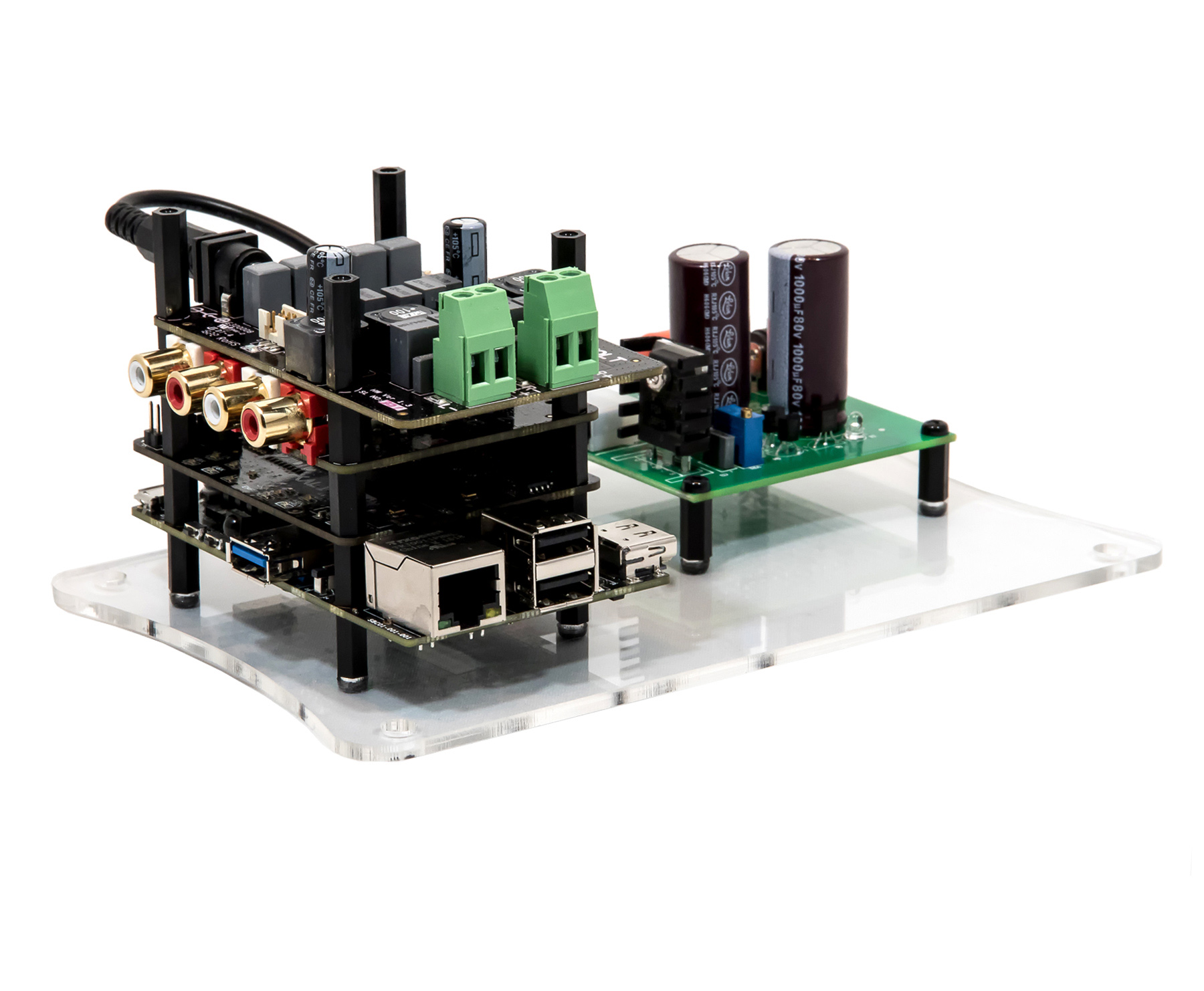 Piano DAC for raspberry pi