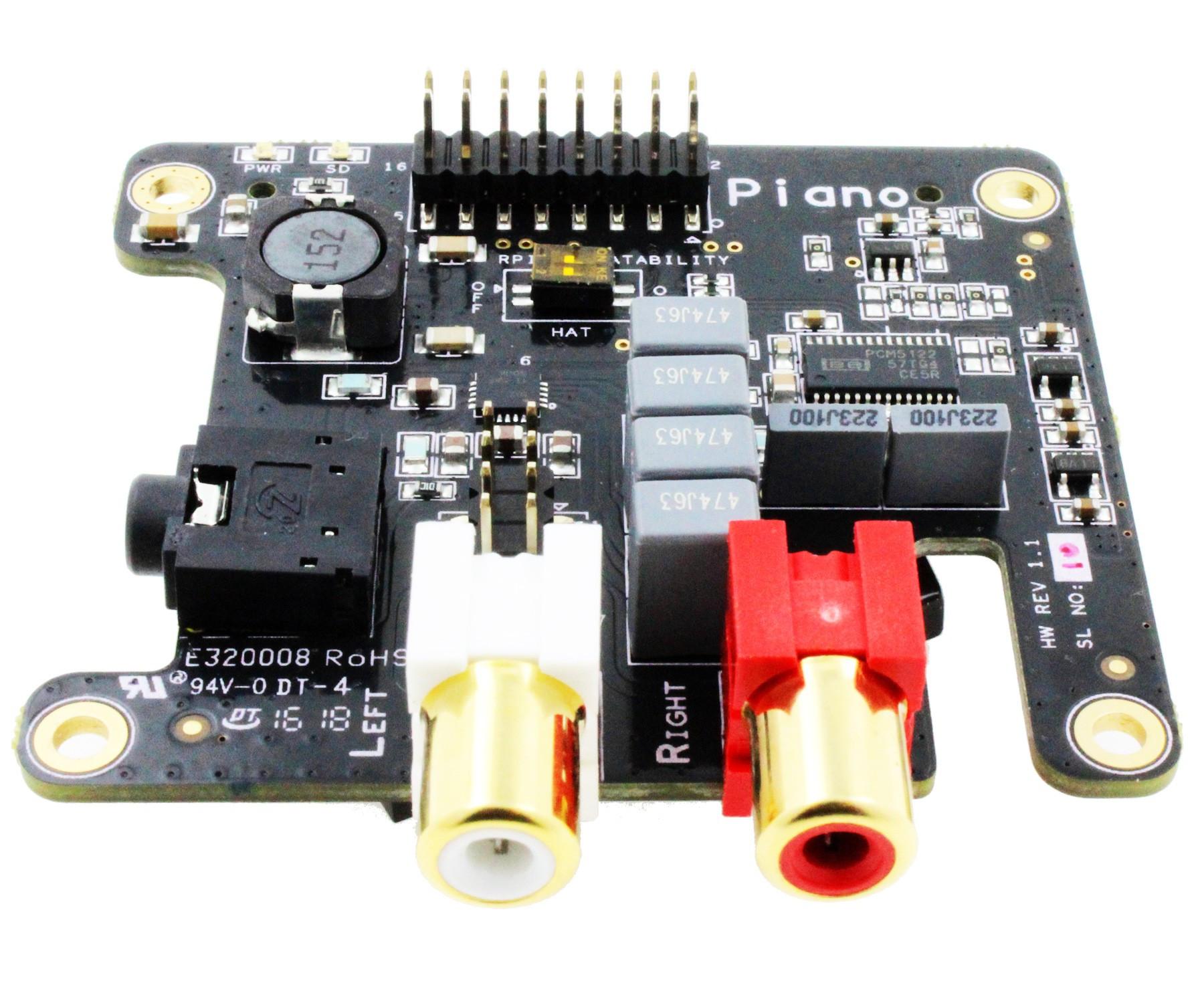 Piano DAC for raspberry pi - EU