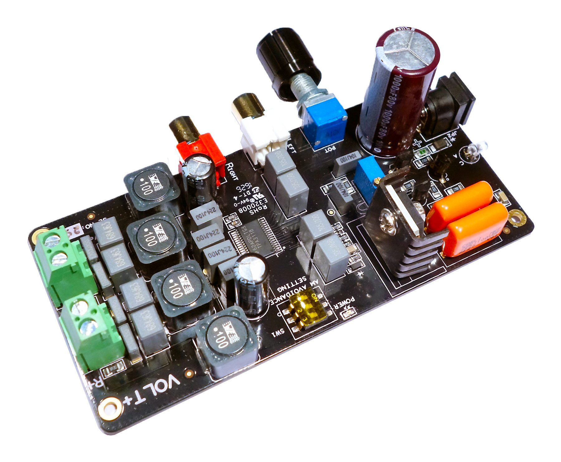 Volt Class D Amplifier 10w Power Audio Schematic Diagram Next